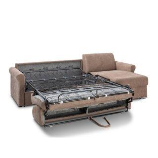 Canapé d'angle ROMANTICO convertible EXPRESS 160cm matelas 16cm