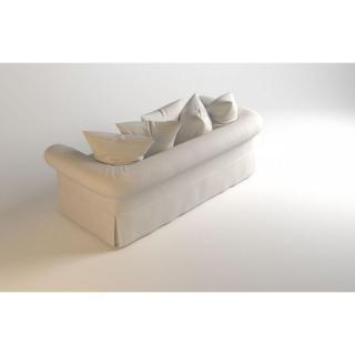 Canapé lit convertible HARRY Matelas BULTEX 133*183*6 cm Sommier lattes Ouverture RAPIDO