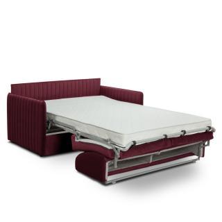 Canapé convertible rapido SEATTLE matelas 120cm sommier lattes tête de lit intégrée matelas 16 cm
