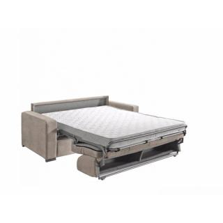 Canapé convertible express  MOJITO sommier lattes 140cm matelas 15cm  mono assise