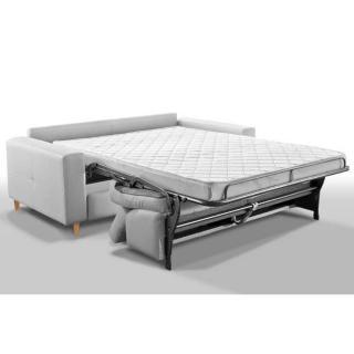 Canapé convertible SUÈDE rapido 160 cm matelas 14 cm sommier lattes