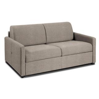 NICE divano 3-4 posti in microfibra crudo sistema letto RAPIDO RENATONISI 160cm rete a doghe materasso 20cm