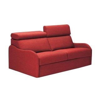 Canapé Convertible express RENATA 140 cm déhoussable matelas 14 cm Encombrement ouvert : 206 cm