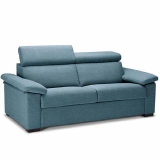 Canapé Convertible express ROSALIA 140 cm déhoussable matelas 18 cm Encombrement ouvert : 206 cm