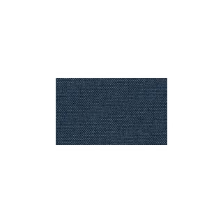Canapé lit SALTILLO convertible 140cm ouverture RAPIDO matelas 15cm pvc blanc et tissu tweed bleu