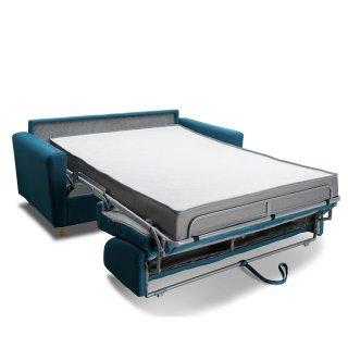 Canapé MEZZANO convertible EXPRESS matelas 16 cm sommier lattes 140 cm