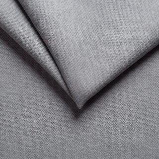 Canapé convertible express SKYWEST 140 cm sommier Lattes matelas 15 cm Tissu microfibre gris