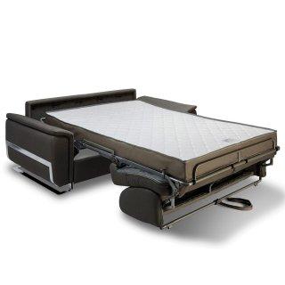 Canapé convertible rapido DIDEROT 120cm sommier lattes matelas 16cm