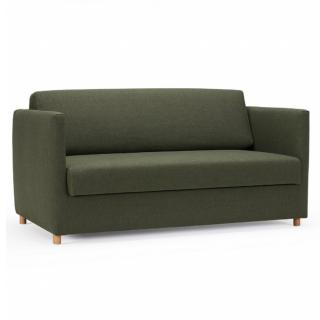 INNOVATION LIVING  Canapé convertible OLAN colorisTwist Green couchage 140 cm