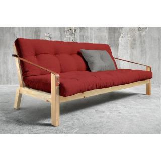 canap lit clic clac au meilleur prix clic clac convertible jade cru 130 190cm matelas confort. Black Bedroom Furniture Sets. Home Design Ideas