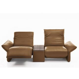 Canapé 2 places haut de gamme ELENA de KOINOR 240 cm avec assises motorisées par Touch It Technology
