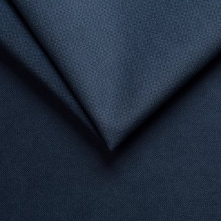 Canapé lit express COLOSSE couchage 120 cm matelas épaisseur 22 cm à mémoire de forme velours bleu marine