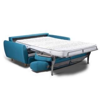 Canapé convertible EXPRESS COPENHAGUE Couchage 120*197*16cm Sommier lattes RENATONISI