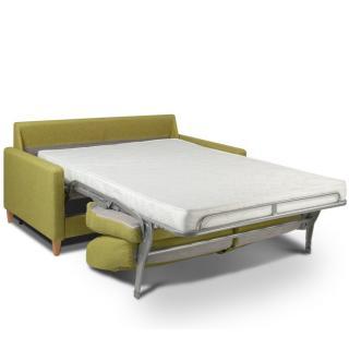 Canapé convertible OGGETTO matelas 14cm système rapido sommier lattes 120cm RENATONISI