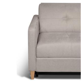 Canapé convertible SCANDINAVE matelas 14cm système rapido sommier lattes 160cm RENATONISI