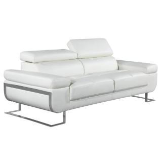 Canapé 3 places en cuir FRATTA