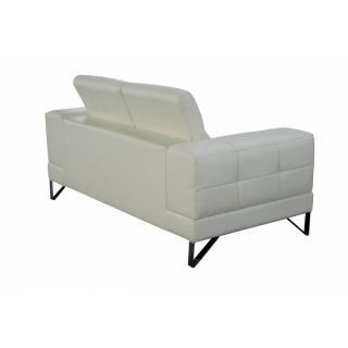 canap fixe confortable design au meilleur prix canap 3 places en cuir recycl ronco inside75. Black Bedroom Furniture Sets. Home Design Ideas