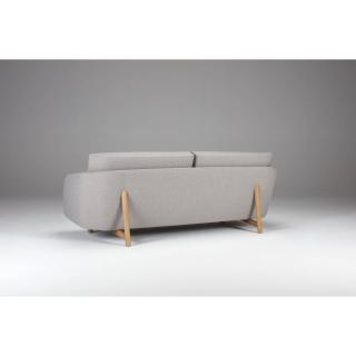 Canapé 3 places TREND piétement chêne clair