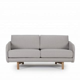 Canapé 2 places TREND piétement chêne clair