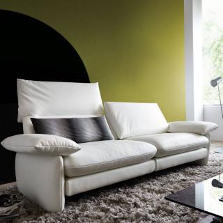 Canapé 2 places haut de gamme COSIMA de KOINOR dossiers réglables