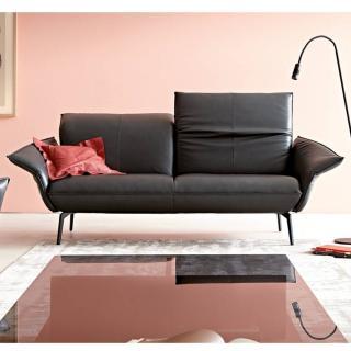Canapé 2 places haut de gamme FLIRT de KOINOR 162cm dossiers et accoudoirs réglables