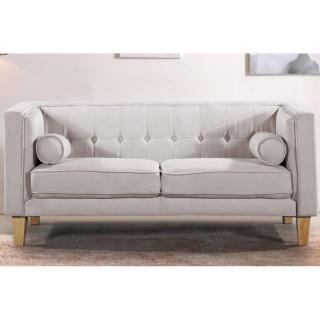 canap design style scandinave au meilleur prix canap 2 places style scandinave piavola tissu. Black Bedroom Furniture Sets. Home Design Ideas