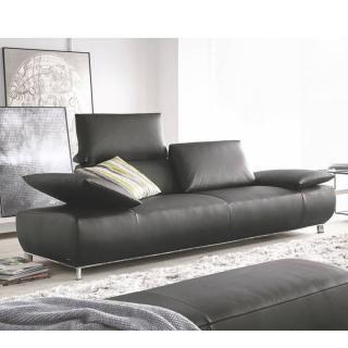 Canapé 2 places Small haut de gamme VOLARE de KOINOR dossiers et accoudoirs réglables