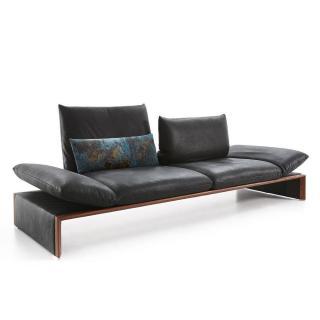 Canapé 2 places haut de gamme HOUSTON de KOINOR 206cm dossiers et accoudoirs réglables