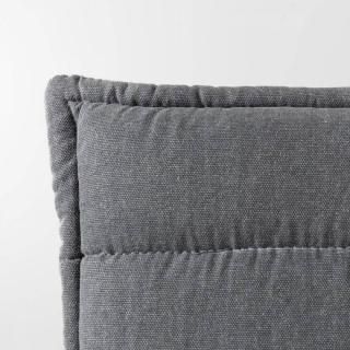ZUIVER Canapé 3 places JAEY tissu gris foncé