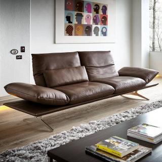Canapé haut de gamme FRANCIS de KOINOR 206 cm dossiers et accoudoirs réglables