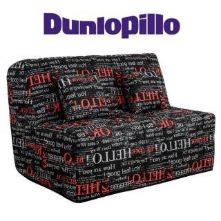 Canapé convertible BZ LOVE imprimé système Slyde matelas DUNLOPILLO 15cm