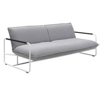 Canapé lit convertible design NOVA 3 places structure laquée blanc  SOFTLINE