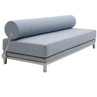 Canapé lit convertible design SLEEP structure aluminium