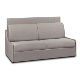 Canapé compact convertible avec tête de lit GRAND HOTEL matelas mémory  20cm rapido  lattes 120cm