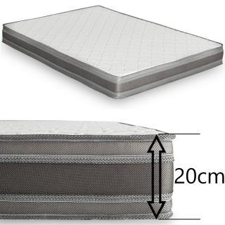 Canapé compact convertible LONGCHAMP matelas mémory  20cm rapido lattes 140cm
