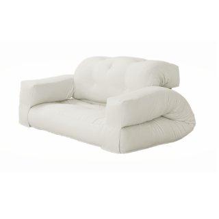 Canape d'extérieur relax convertible KALVIN couleur blanc