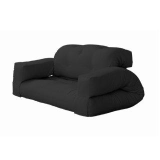 Canape d'extérieur relax convertible HIPPO OUT couleur gris anthracite