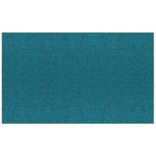Module convertible LOUNGE 3 places en tissu bleu canard couchage 160*198cm  SOFTLINE