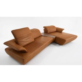 Canapé d'angle droite 2/3 places haut de gamme AVANTI de KOINOR 339cm profondeur et dossiers réglables