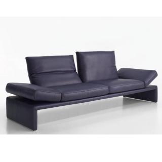 Canapé 2 places haut de gamme RAOUL de KOINOR 206cm dossiers et accoudoirs réglables