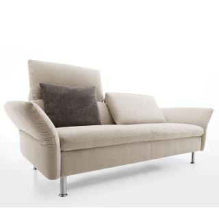 Canapé 2 places Small haut de gamme VITTORIA de KOINOR dossiers et accoudoirs réglables