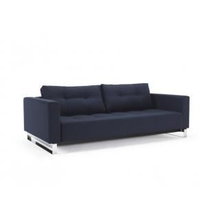 INNOVATION LIVING  Canapé gigogne design CASSIUS DELUXE EXCESS LOUNGER blue Mixed Dance convertible lit 155*200 cm