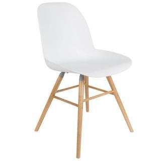 Chaise design scandinave ALBERT KUIP blanche