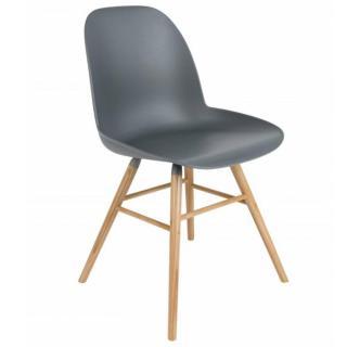 Chaise design scandinave ALBERT KUIP graphite