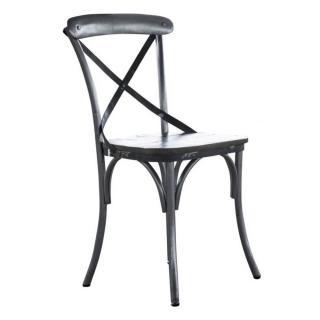 Chaise style bistrot ALIBERT en manguier massif