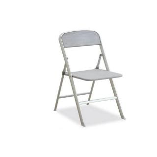 Chaise pliante ALU grise
