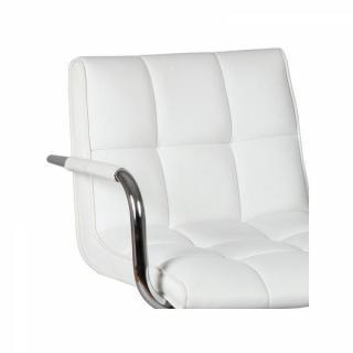 Lot de 2 chaises de Bar DIAMOND blanches