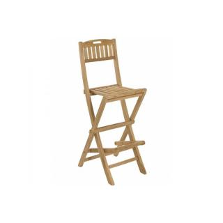 Chaise de bar de jardin FUN en teck