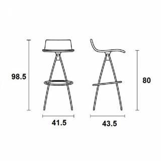 chaise design ergonomique et stylis e au meilleur prix chaise de bar design l 39 eau orange. Black Bedroom Furniture Sets. Home Design Ideas