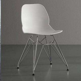 Chaise EIFFEL design blanche